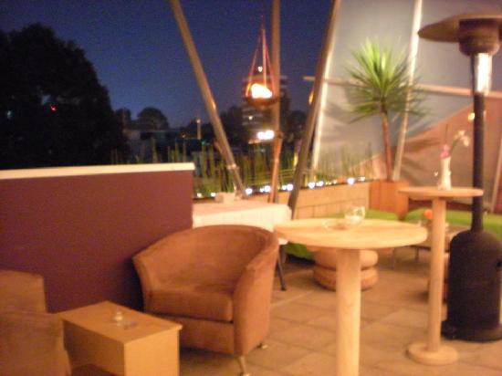 Piedraluna Hotel: cafe / restaurante