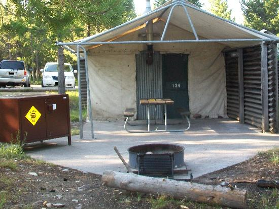 Colter Bay Village C&site Colter Bay tent cabins & Campsite Colter Bay tent cabins - Picture of Colter Bay Village ...