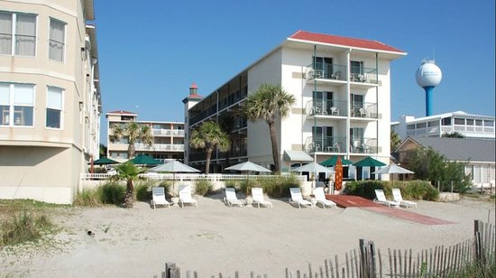 Desoto Beach Hotel : Oceanfront rooms
