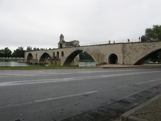 Pont St.-Benezet just 5 min. walk from Hotel de l'Horloge in Avignon, France