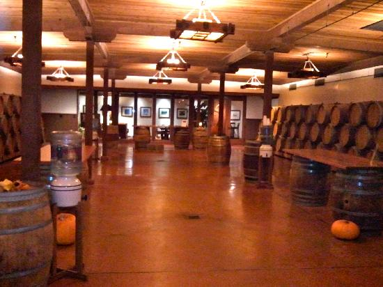 Cloud Climbers Jeep Tours : Tasting room at Gainey