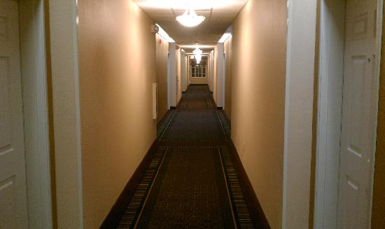 Candlewood Suites Santa Maria: Hall Way