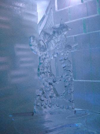 Icebar Orlando: Escultura de hielo