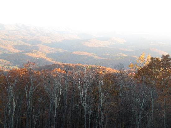 Super 8 Boone: You could see for many miles even though it was hazy and late in the day.