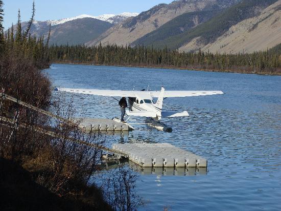 Northwest Territories, Canada: Our floatplane