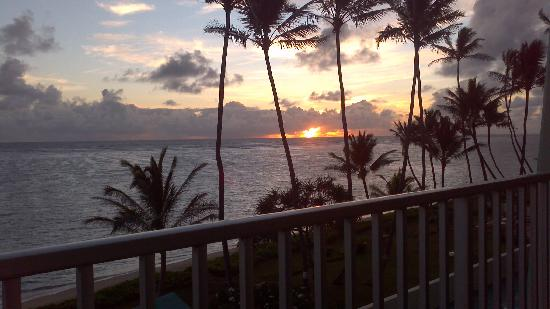Pat's at Punalu'u : #503's Breathtaking sunrise view