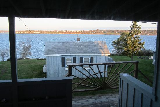 Sea Escape Cottages: View from our room