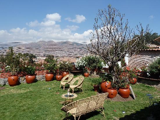 Encantada Casa Boutique Spa: The garden