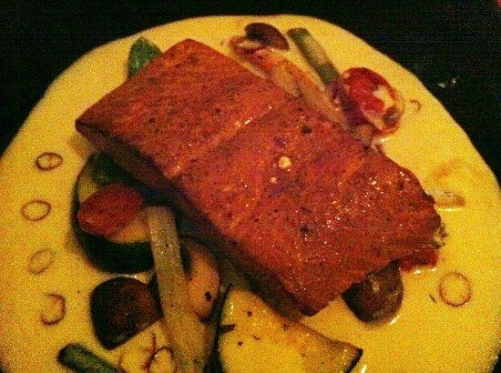 Peter's Restaurante: salmon ahumado