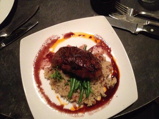 crave kitchen + wine bar : Bison Steak