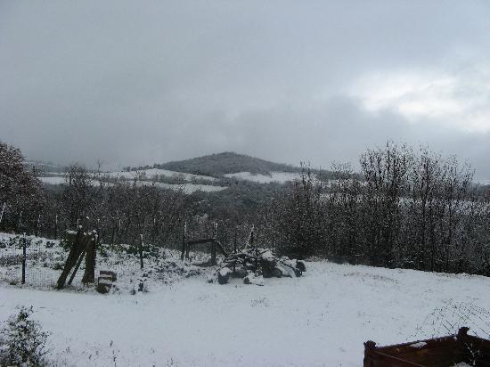 Agriturismo Aiole: neve