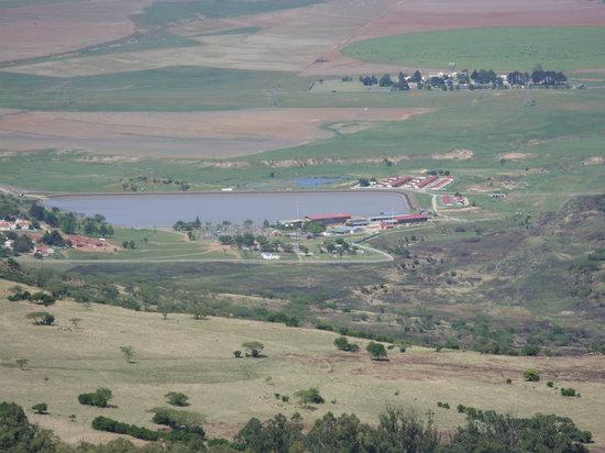 Drakensberg Mountain Retreat: One of the views