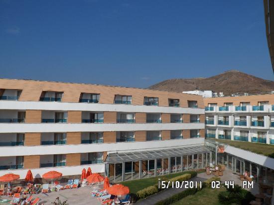 Grand Park Bodrum: l'hotel côté mer