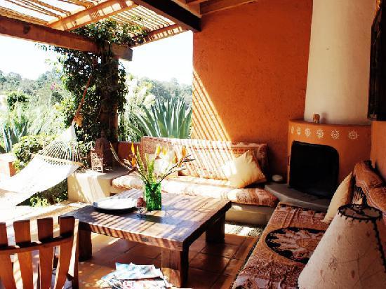 Las Luciérnagas: Una terraza