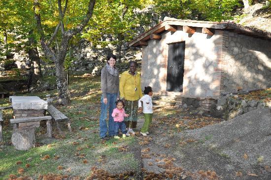 Capovelli B&B: Cottage nel bosco di castagni