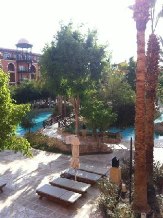 The Grand Resort Hurghada: view from room  claire and stuart x