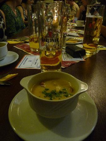 Gasthaus Krombach: Berlin Soup, a MUST try!