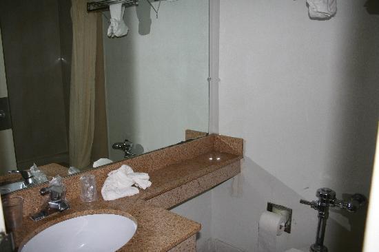 Motel 6 Washington DC: La salle de bains