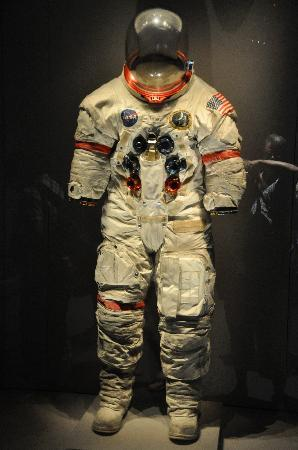 Original space suit Neil Armstrong - Picture of Kennedy ...