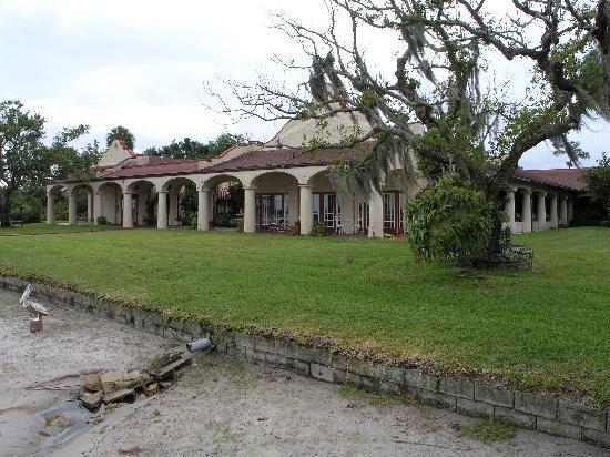 Sebring Lakeside Golf Resort Inn and Tea Room: View from the lake 2011