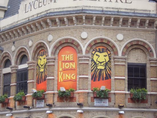 The Lion King : Lion King at Lyceum