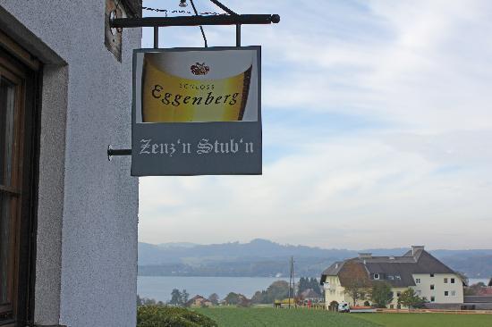 Restaurant Zenz'n Stub'n : Blick auf den Attersee