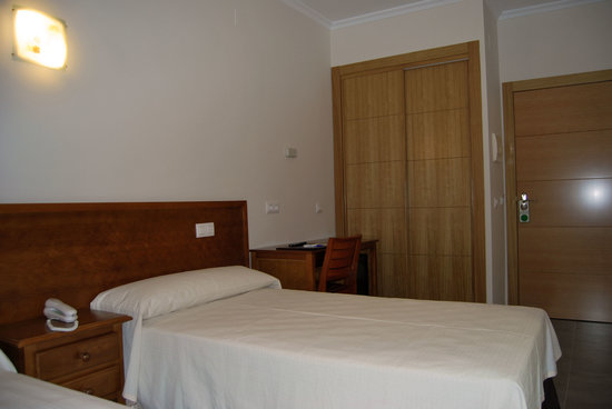 Hotel Gema: está fué la habitación en la que estuvimos
