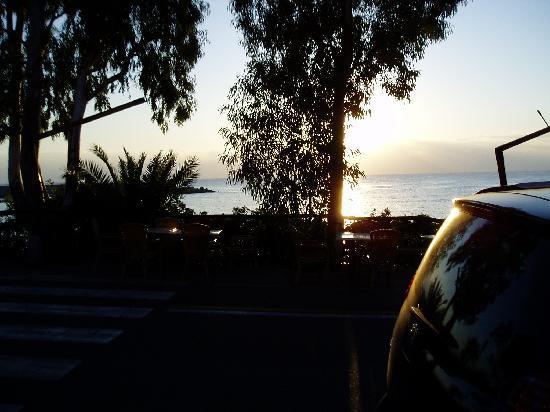 Hotel La Conchiglia : breakfast view