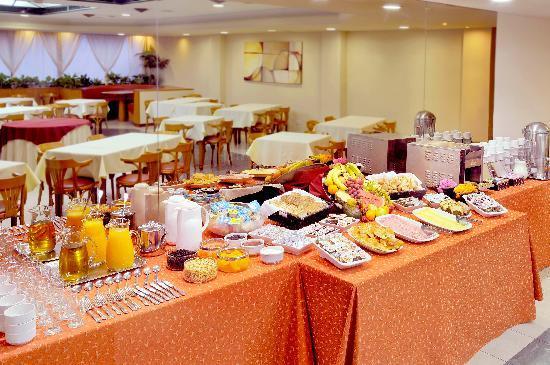 Desayuno Hotel Argos Bahia Blanca