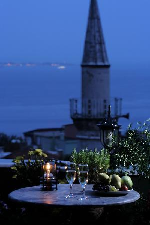 Dersaadet Hotel Istanbul : The Roof Terace