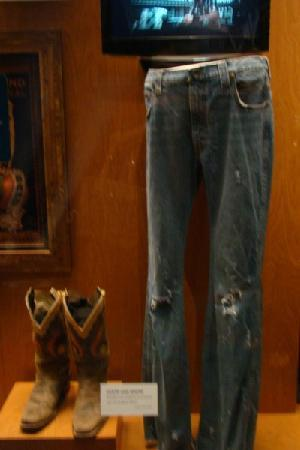 Country Music Hall of Fame and Museum: Jason Aldean jeans and boots