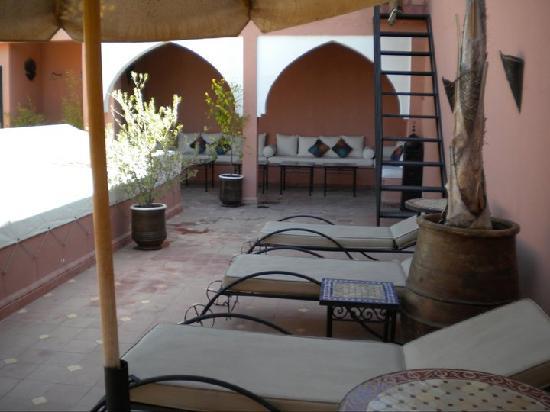Dar Loula: The roof terrace
