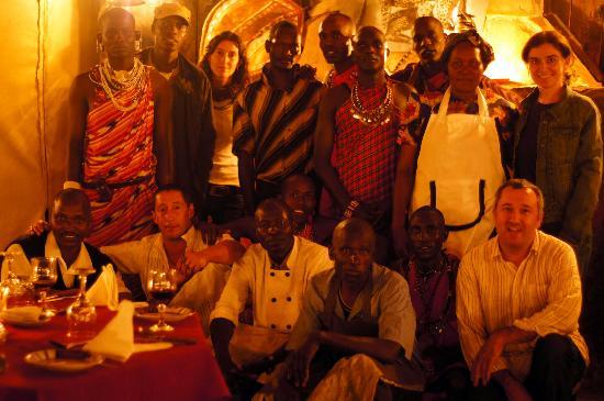 Cheetah Tented Camp: El equipo