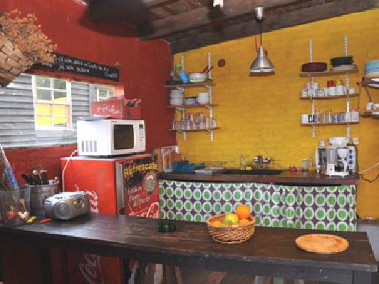 Posada Hostel La Casa de la Luna: Cocina bacana!!