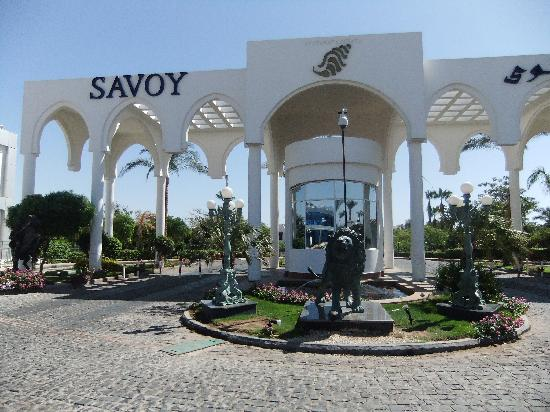 Savoy Sharm El Sheikh: great entrance