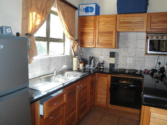 Kiara Lodge: kitchen