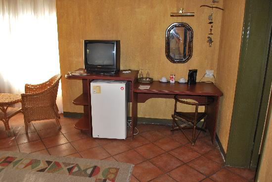 Villa Verdi Guesthouse: lussuoso schermo TV