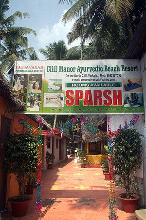 Welcome to Cliff Manor Ayurvedic Beach Resort