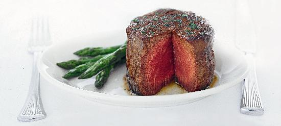 Ruth's Chris Steak House - Calgary: Delicious sizzling filet