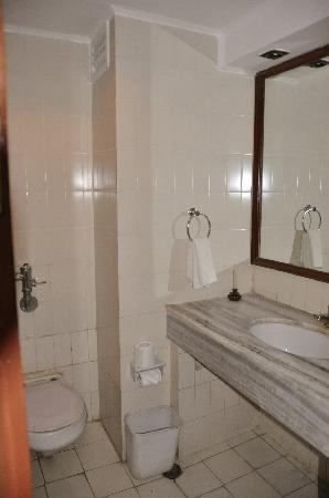 Hotel Mountain: Bathroom