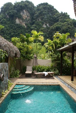 The Banjaran Hotsprings Retreat: our garden villa