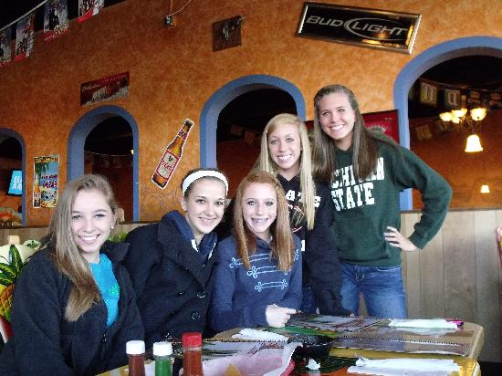 El Rancho : Birthday girl and friends.