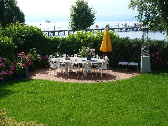 Villa am See: Aussicht vom Zimmer
