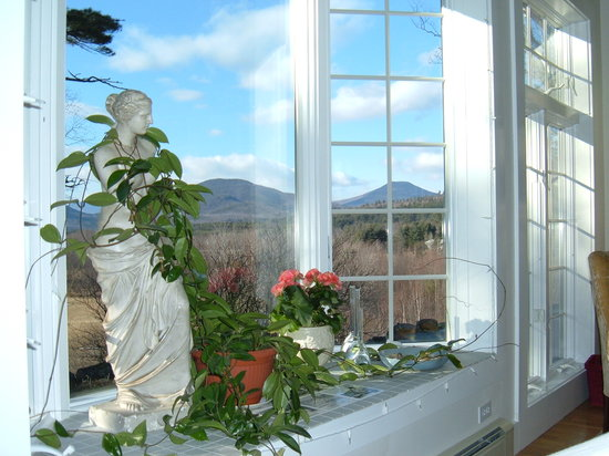 Brookhill Bed and Breakfast: View from suite's Master Bedroom