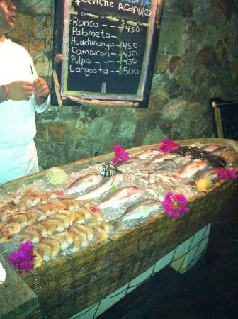 Cala de Mar Resort & Spa Ixtapa: Fish Market