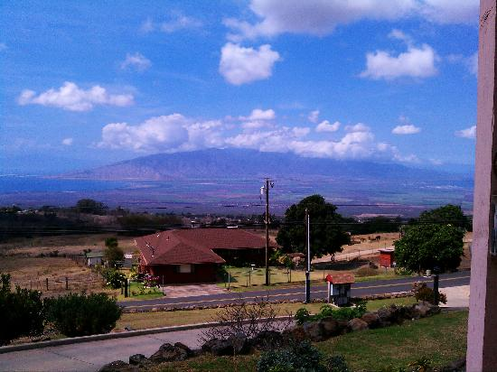 Upcountry Bed and Breakfast: View from the front of house