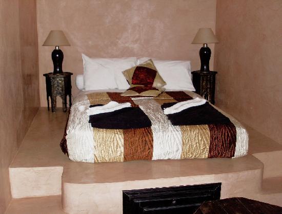 Riad Amskal: habitación