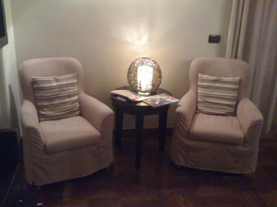 Villa Corte Lotti B&B : salottino