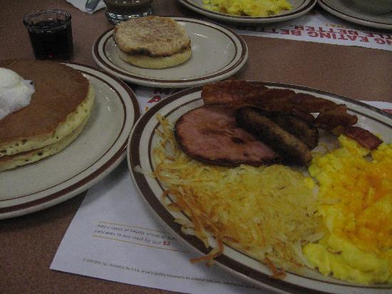 Denny's: amerikanisches Frühstück