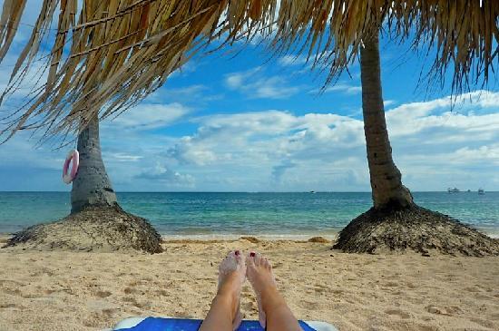 Dreams Palm Beach Punta Cana: this is the beach